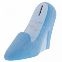 Disney Enchanting Cinderella Wedding Shoe Money Bank- Official