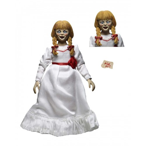 The Conjuring Universe Annabelle 8″ Clothed Action Figure Neca - Official