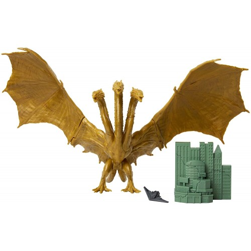 Godzilla King of the Monsters King Ghidorah Action Figure Jakks Pacific - Official