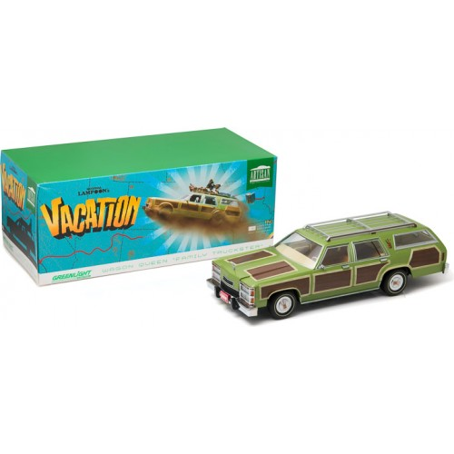 National Lampoon's Vacation 1:18 1979 Wagon Queen Family Truckster Greenlight - Official