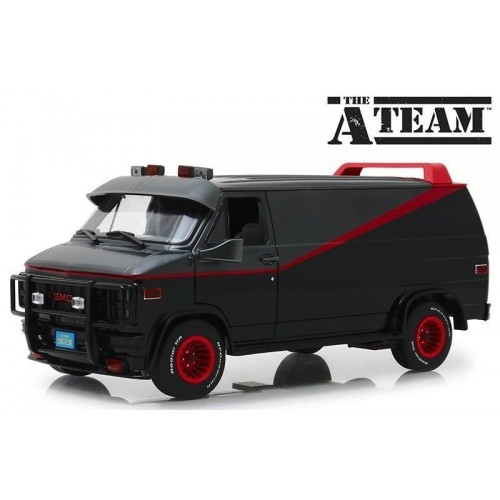 A-Team 1:18 1983 GMC Vandura Diecast Model Greenlight - Official