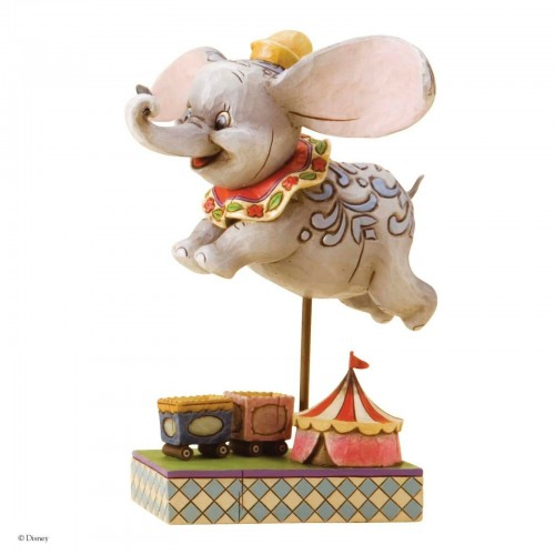 Disney Traditions Dumbo Faith In Flight Figurine - Official