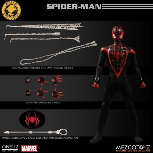Mile Morales Spider-Man One:12 Collective Action Figure SDCC Summer Exclusive - Mezco