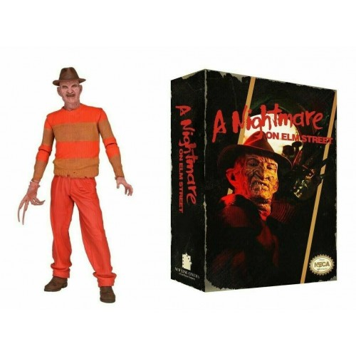 Nightmare on Elm Street Freddy Krueger Classic Video Game Appearance Action Figure Neca -  Official