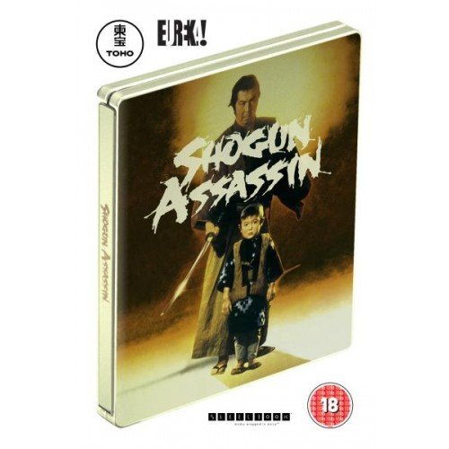 Shogun Assassin Limited Edition Steelbook Blu-Ray and DVD - Official