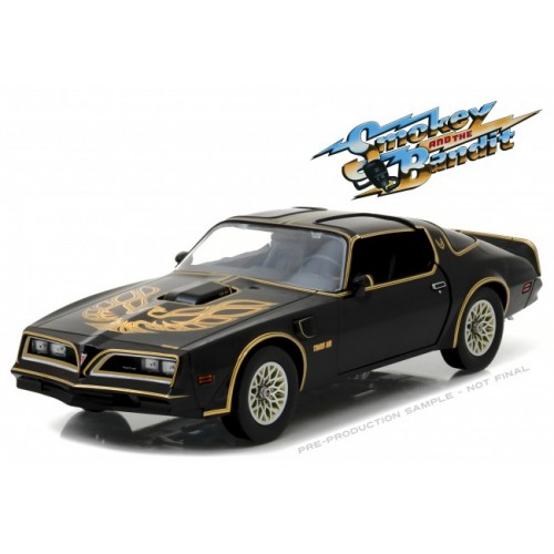 Smokey and the Bandit 1:18 1977 Pontiac Trans Am Greenlight - Official