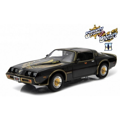 Smokey and the Bandit II 1:18 1980 Pontiac Trans Am Greenlight - Official