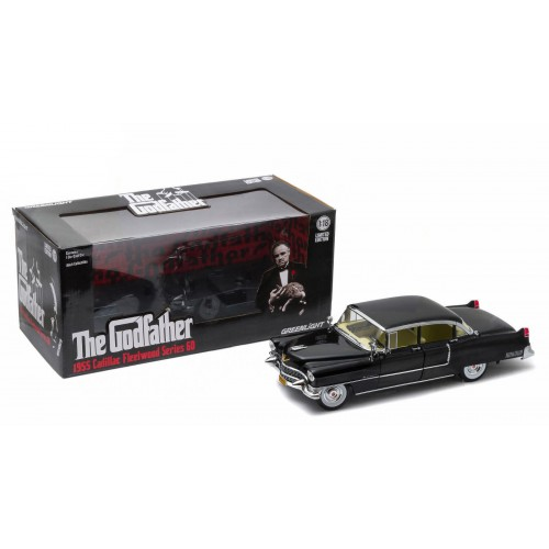 The Godfather 1:18 1955 Cadillac Fleetwood Series 60 Greenlight - Official