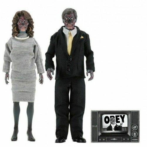 They Live Aliens 2-Pack Action Figure Set Neca - Official