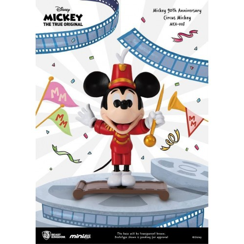 Mickey Mouse 90th Anniversary Circus Mickey Mini Egg Attack Figure Beast Kingdom - Official