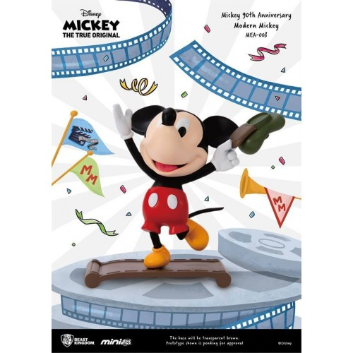 Mickey Mouse 90th Anniversary Modern Mickey Mini Egg Attack Figure Beast Kingdom - Official