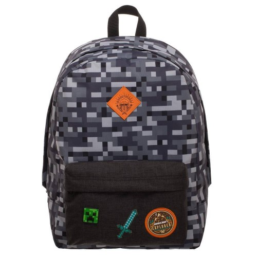 Minecraft Camo Backpack - Official