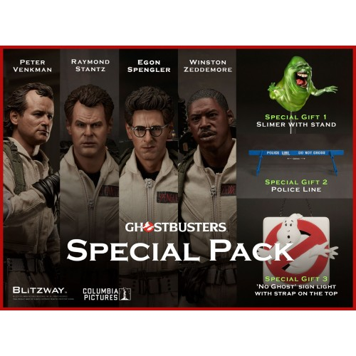 Ghostbusters 1:6 Action Figure Set Special Edition Blitzway - Official