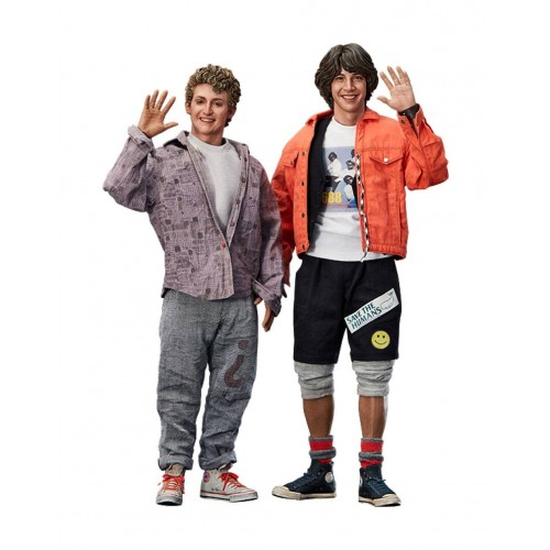 Bill & Ted's Excellent Adventure 1/6 Bill & Ted Action Figure 2-Pack Blitzway - Official
