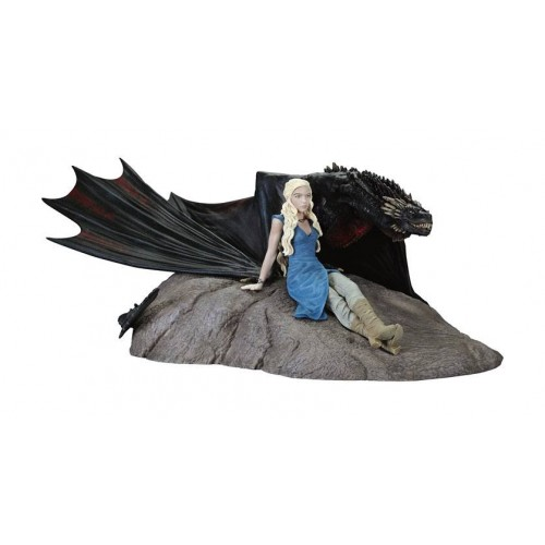 Game of Thrones Daenerys & Drogon Statue Dark Horse  - Official
