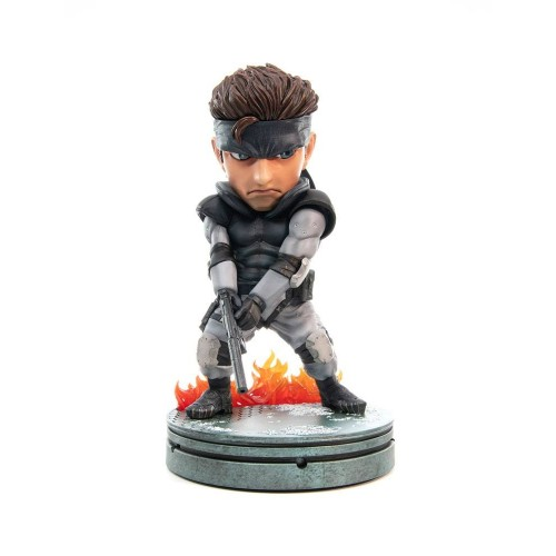 Metal Gear Solid Snake Statue First 4 Figures - Official
