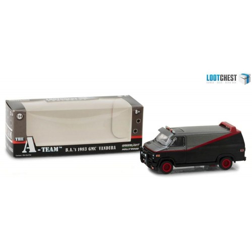 A-Team 1:64 1983 GMC Vandura Exclusive Diecast Model Greenlight - Official