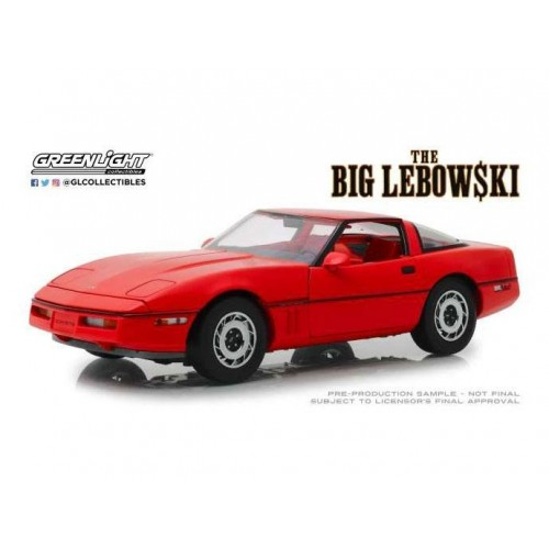 The Big Lebowski 1:18 1985 Chevrolet Corvette C4 Greenlight - Official