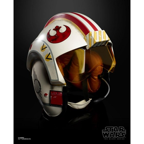Star Wars Luke Skywalker Electronic X-Wing Pilot Helmet Black Series - Official