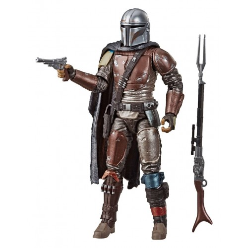 Star Wars The Mandalorian Carbonized Action Figure Black Series Hasbro - Official