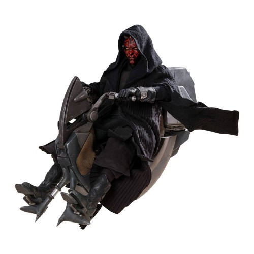 Star Wars Episode I 1:6 Darth Maul & Sith Speeder DX Series Action Figure Hot Toys - Official