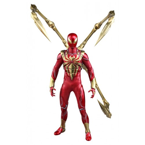 Spider-Man Video Game 1:6 Spider-Man (Iron Spider Armor) Action Figure Hot Toys - Official