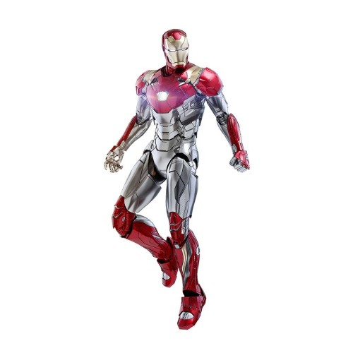Spider-Man Homecoming 1/6 Iron Man Mark XLVII Reissue Diecast Action Figure Hot Toys - Official