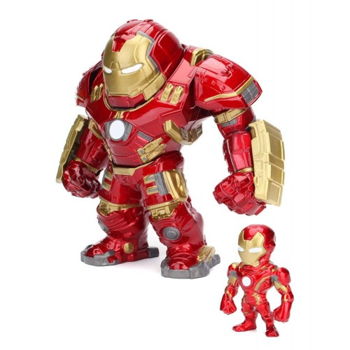 Avengers Age of Ultron Hulkbuster & Iron Man Metals Die Cast Figures Jada Toys - Official