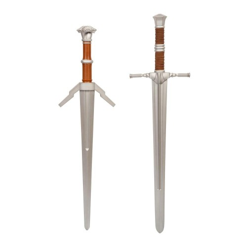 The Witcher 1/1 Steel and Silver Foam Sword 2-Pack J!NX - Official