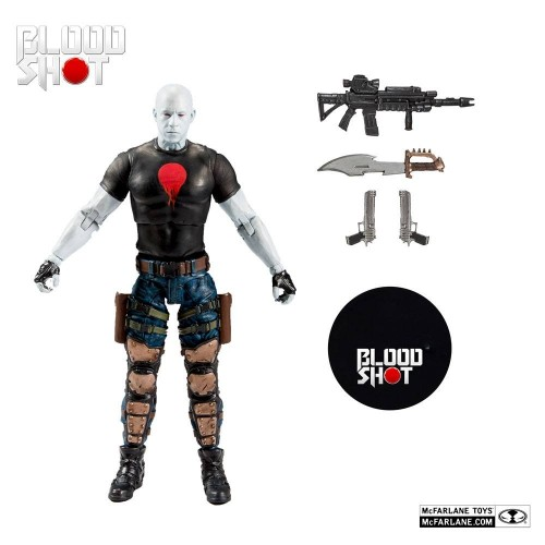 Bloodshot Action Figure McFalane Toys - Official