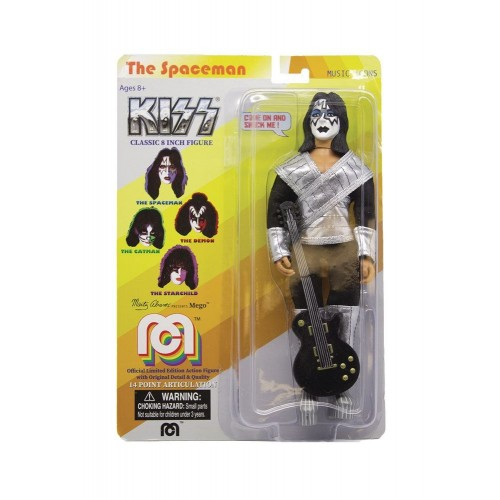Kiss The Spaceman Action Figure Mego - Official