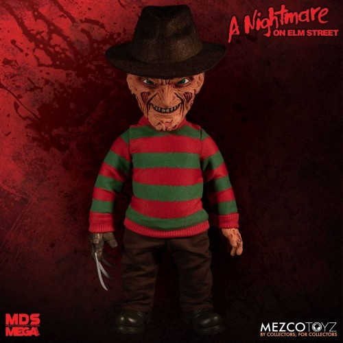 A Nightmare on Elm Street Freddy Krueger Mega Scale Talking Doll Mezco - Official