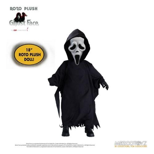 Scream Ghostface MDS Roto Plush Doll Mezco - Official