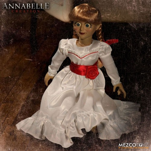 Annabelle Creation Annabelle Scaled Prop Replica Doll Mezco - Official