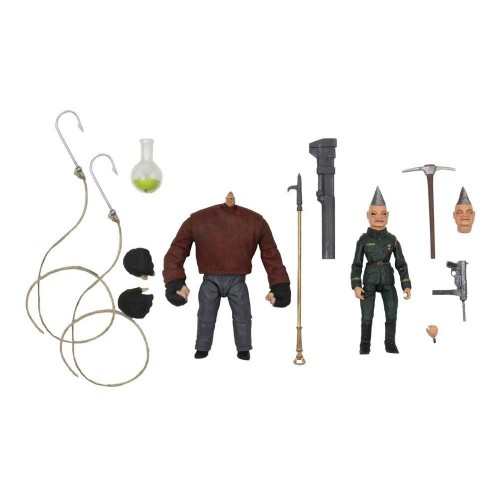 Puppet Master Ultimate Pinhead & Tunneler 2- Pack Action Figure Neca - Official