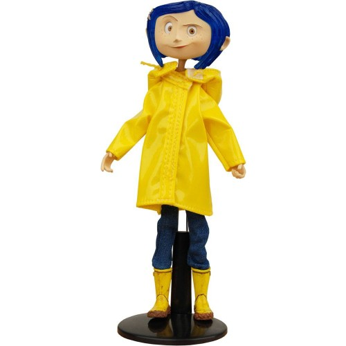 Coraline Bendy Doll Raincoats & Boots Neca - Official