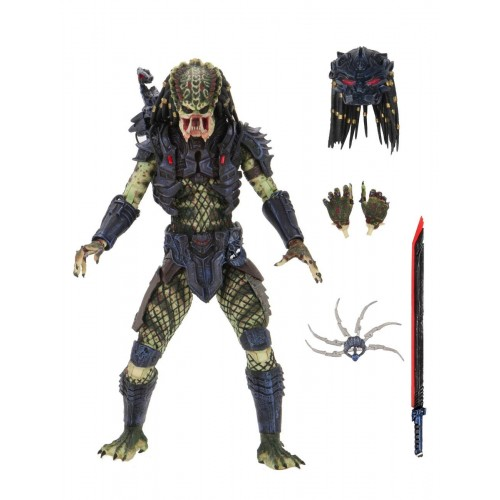 Predator 2 Ultimate Armored Lost Predator Action Figure Neca - Official
