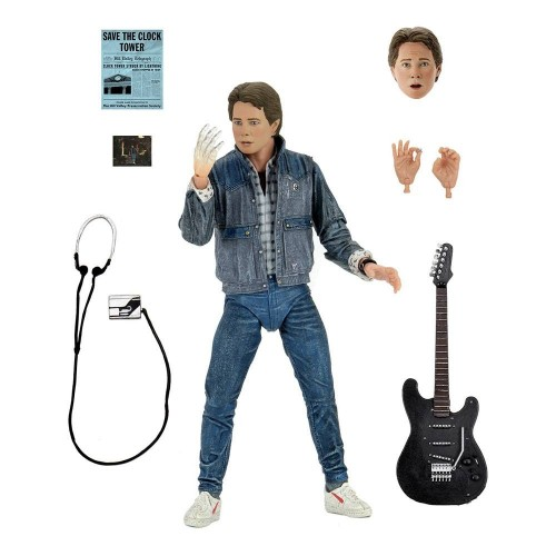 Back to the Future Ultimate Marty McFly Action Figure Neca - Official