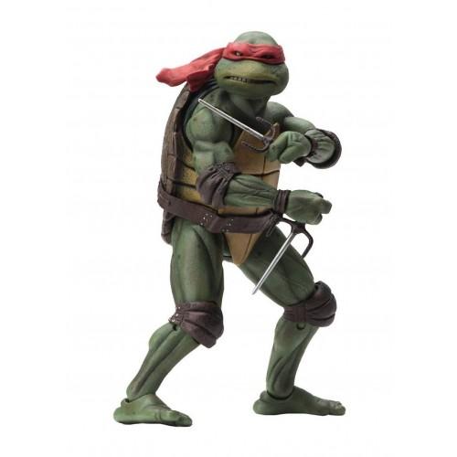 """Teenage Mutant Ninja Turtles 1990 Raphael 7"""" Action Figure Neca - Official"""