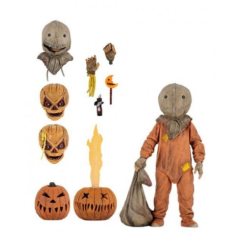 Trick r Treat Sam Clothed Retro Action Figure Neca - Official