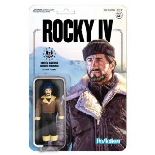 Rocky 4 Rocky (Winter Training)  ReAction Action Figure Super7 - official
