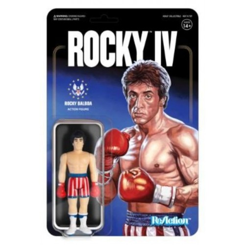 Rocky 4 Rocky ReAction Action Figure Super7 - official