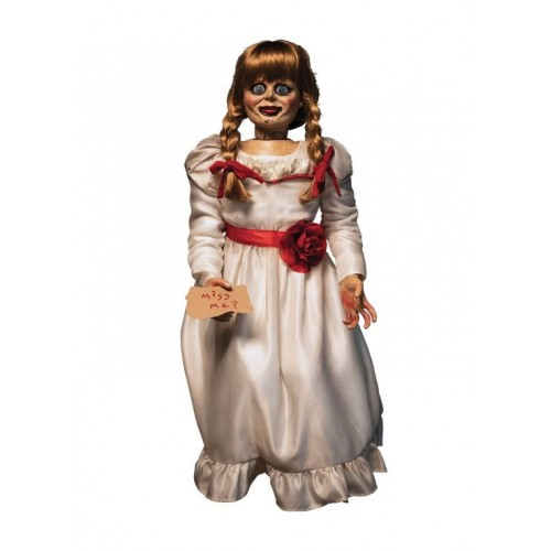The Conjuring 1/1 Annabelle Prop Replica Doll Trick or Treat  - Official