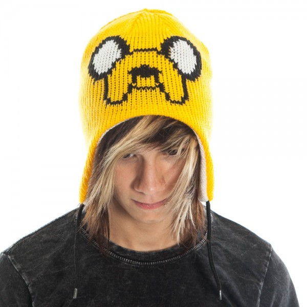 Adventure Time Jake Official New Yellow Beanie Hat