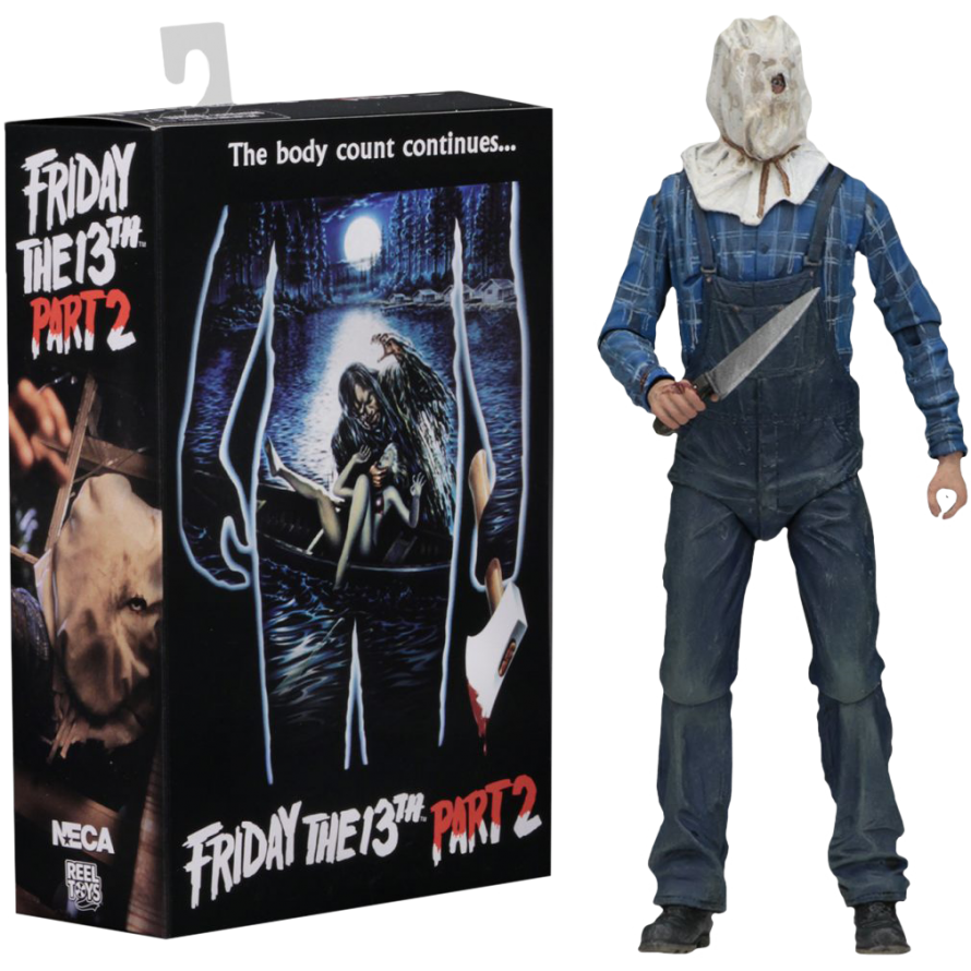 NECA Friday 13th Part 6 Ultimate Jason Voorhees 18 cm Action Figure
