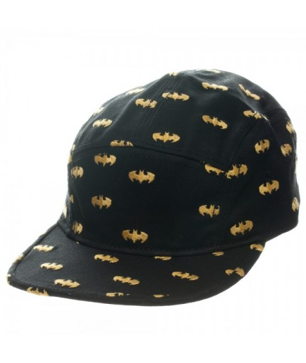 37b4d16c Batman All Over Print Camper Strapback Cap - official