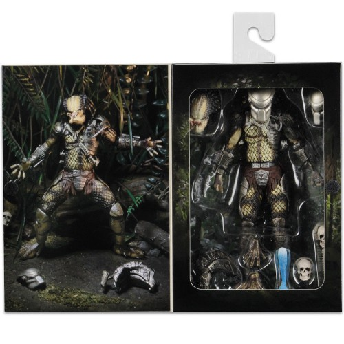 """New 7/"""" Action Figure Jungle Hunter Predator Ultimate Movie Collection 1:12 Doll"""